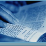Bijbelstudie uit folder